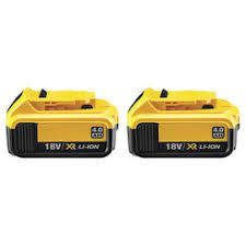 445861 25 Dewalt 18v Battery Pack