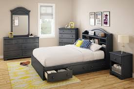 Bed With Headboard And Drawers Furniture Amazing Design Of Queen Storage Bed With Bookcase