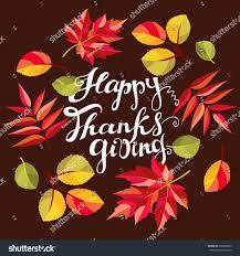 happy thanksgiving card celebration stock vector