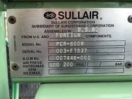 sullair model pcr 600n coalescing air filter 600 cfm pacific