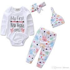 new year baby clothes 2017 2017 new year baby clothes spark kids clothing set baby