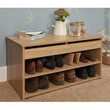 Oak Shoe Storage Cabinet Oak Shoe Storage Wayfair Co Uk