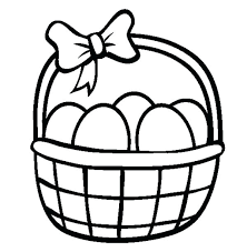 blank easter baskets easter baskets coloring pages baskets coloring pages easter egg
