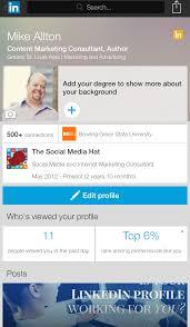 Linkedin Cv Creator How To Update Resume On Linkedin Resume For Your Job Application