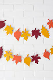 diy 10 autumn kids craft ideas paper leaves leaf garland and