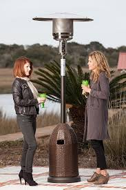 Propane Patio Heaters Reviews by Amazon Com Fire Sense All Weather Wicker Patio Heater Portable