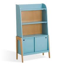 alinea cuisine enfant bibliothèque vintage bleue pour enfant vintage ameublement