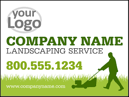 Landscaping Lawn Care by Lawn Care Landscaping Yard Signs Youprint Com