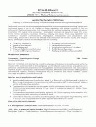 exles of resumes for management resume exles resume sle