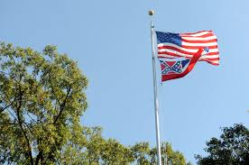 American State Flags University Of Mississippi Lowers Confederate State Flag The