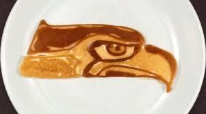 nfl thanksgiving schedule 2014 nfl logos drawn with pancake batter si com