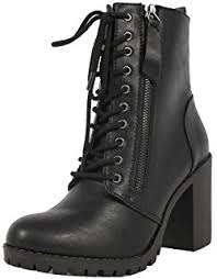 s boots combat amazon com soda womens dome combat boots mid calf