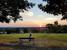 sunset from norwood grove next door to streatham common flickr
