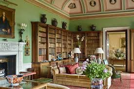stately home interiors country house library bookshelf ideas houseandgarden co uk