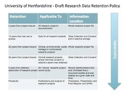 data retention policy template template design