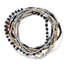 bracelet sets seed bead stackable bracelet sets