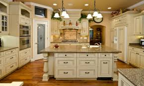 Rustic Country Kitchen Cabinets by Country Antique White Kitchen Cabinets Rustic Country Kitchens