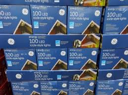ge led icicle lights costco ge energy smart icicle led lights costco 1 costco icicle lights