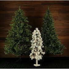 the aisle snowy alpine 3 evergreen pine artificial