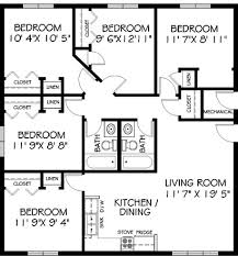 five bedroom floor plans highland east five bedroom b