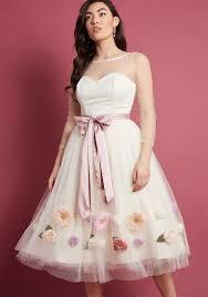pictures of wedding dresses unique chic wedding dresses modcloth