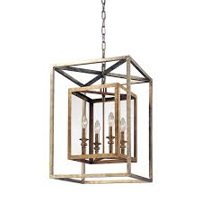 Rectangular Lantern Chandelier Lantern Chandelier Editonline Us
