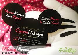 mickey mouse invitation tutorial custom mickey mouse invitations