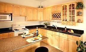 light maple shaker cabinets natural maple cabinets with dark wood floors light vs dark wood