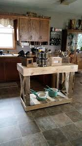 Furniture Kitchen Islands 437 Best Pallet Kitchen Island Images On Pinterest Kitchen