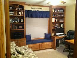 Window Seat Bookshelves Bookcase And Window Seat Storage Hall Construction Ideas