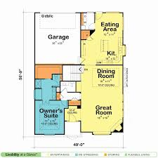 floor plans for homes one story one story floor plans beautiful simple homes best open modern