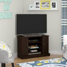 Tv Stand Desk by Crosley Furniture Corner Tv Stand For Tvs Up To Walmart Com