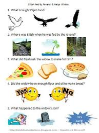 bible fun for kids elijah fed by ravens