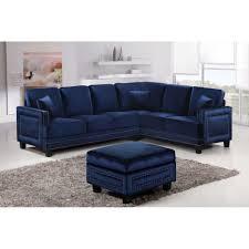 navy blue sectional sofa sofas center impressive image microfiber