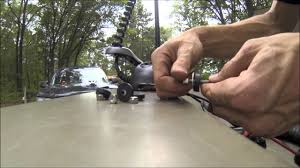 how to install a bow mount trolling motor youtube