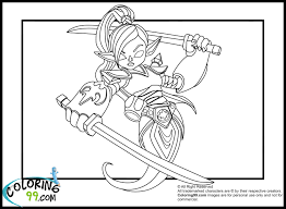 skylanders giants coloring pages minister coloring