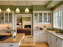 Cabinet For Kitchen Colors For Kitchen Walls With Oak Cupboards Green Cabinets