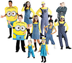 despicable me family halloween costumes despicable me adults fancy dress minions gru agnes childrens boys