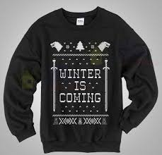 sweater house house stark of thrones winter is coming sweater