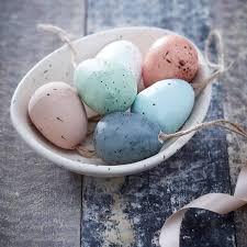 speckled easter egg decorations by the chicken and the egg