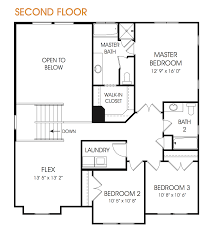 morgan floor plan for two story home edge homes