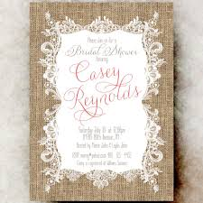 country bridal shower ideas bridal shower nvitation burlap lace bridal shower cottage