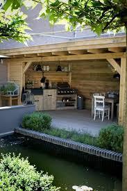 cuisine de jardin en aménager une cuisine d été dans jardin crédit photo