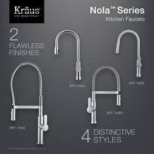 Pull Down Kitchen Faucet Kitchen Faucet Kraususa Com