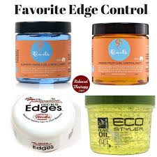Alcohol And Hair Loss My Favorite Edge Controls Are Frizz Free Curls Control Paste