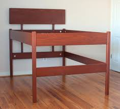 high rise bed frame queen ikea platform frames with storage