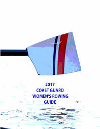 2017 coast guard women u0027s rowing guide by coast guard bears issuu