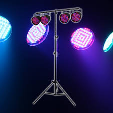 equinox party par pack led par 56 can stage lighting package