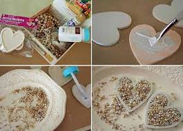 diy valentines day decor ideas home gearts pearls necklaces