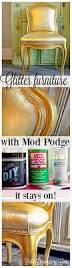 Glue For Upholstery Glitter Your Furniture Yes You Can Mod Podge Rocks